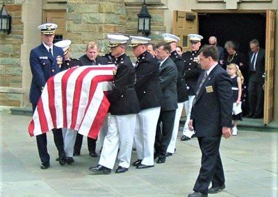 Funeral of Col. Dutch Schreiber