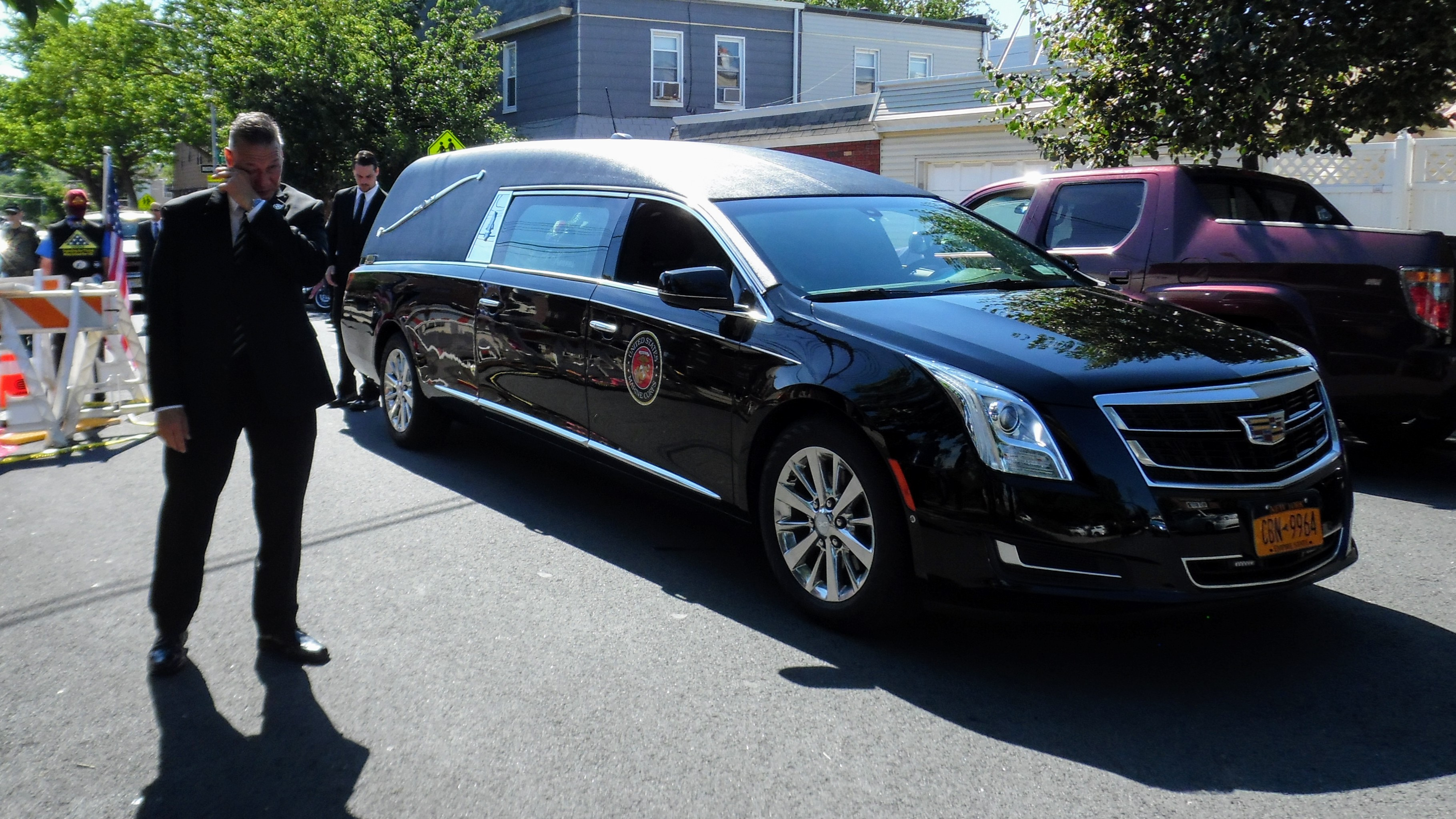 Funeral of Tom Nerney, USMC, NPYD